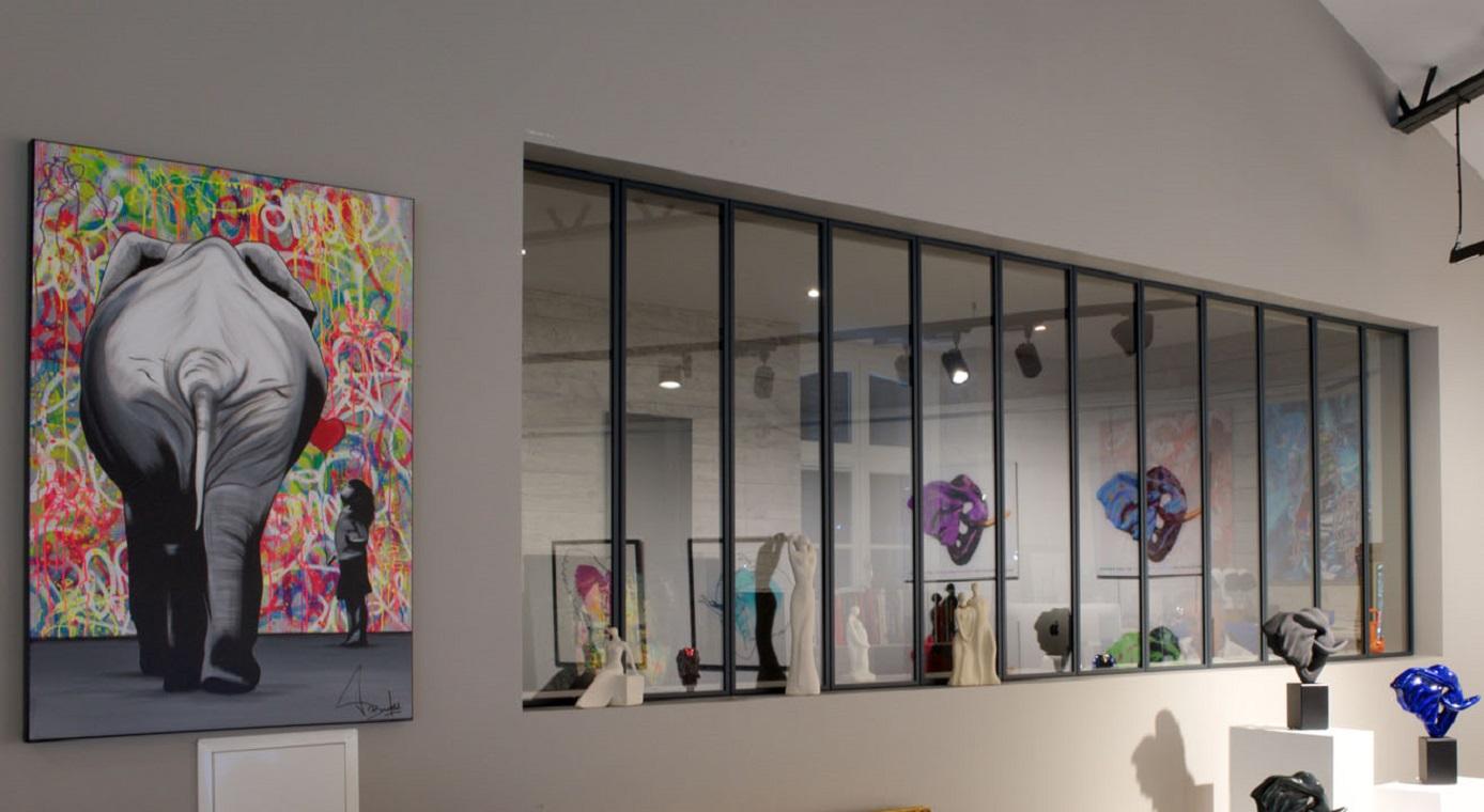 Rnovation  Showroom automobile  Galerie dArt