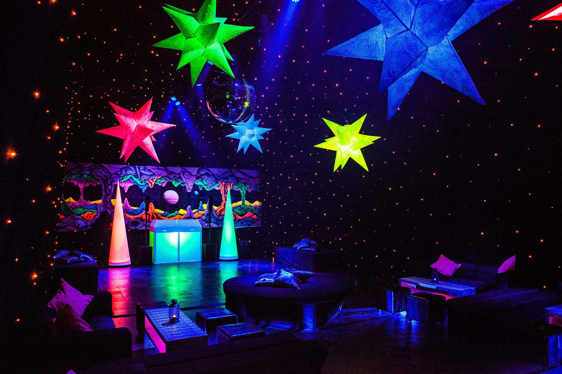 Outer Space I 16th Party Ideas