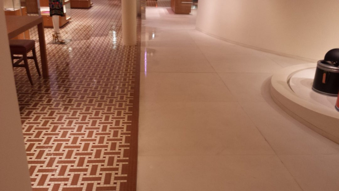 Travertine and Tile and Grout Cleaning