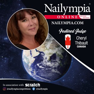 Judge Cheryl Thibault - 2021 Nailympia competition online