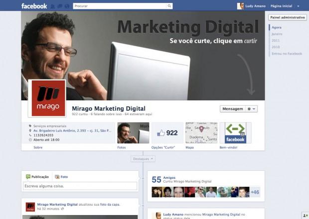 Nova fan page da Mirago