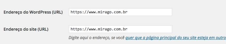 Configuração do HTTPS no WordPress