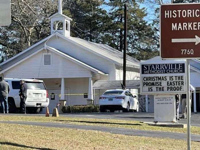 Texas'ta kilisede silahlı saldırı!