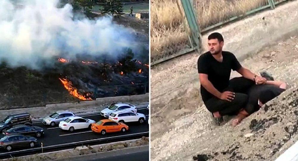Ankara'da kışlada yangın çıkaran kişi tutuklandı