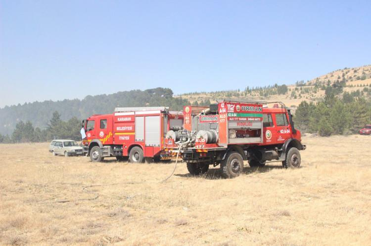 Emniyet ve Jandarma yangınla mücadele için özel ekipler kurdu