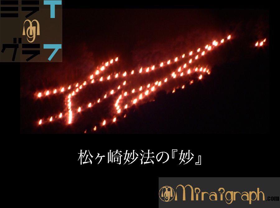 8月16日は五山送り火 pic by photozo Flickr wikipediacommons