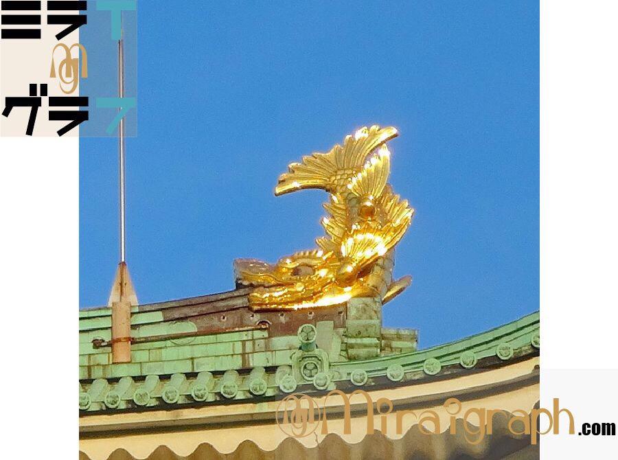 金のシャチホコとは!?他の城にもある!? 8月22日は金シャチの日『今日というミライグラフ365』 picby Fliker&photozo