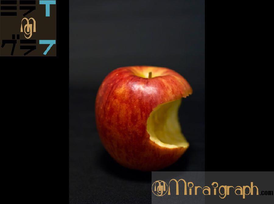 りんごの豆知識その栄養や効果・アップルのマークまで 11月5日はいいりんごの日『今日というミライグラフ365』