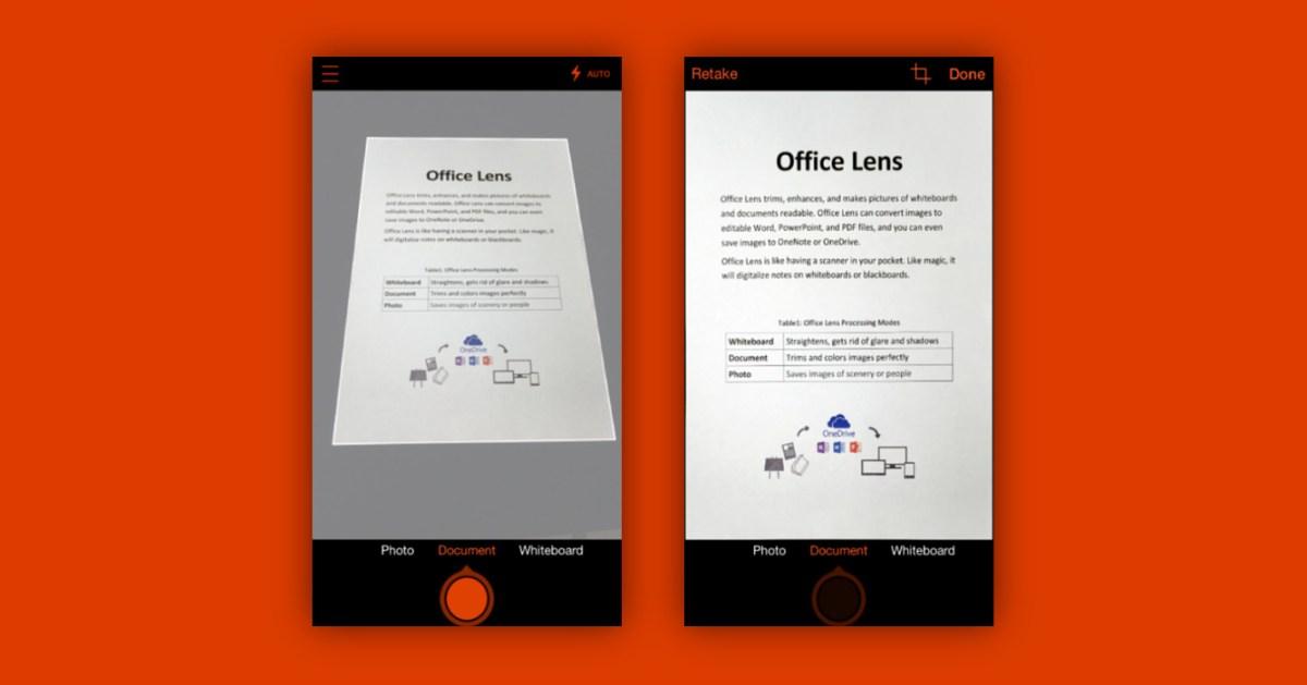 """書類のメモ撮りや名刺スキャンに最適な無料カメラアプリ""""Office Lens"""""""