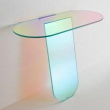 """光で色が変化する、美しいガラスのインテリア・コレクション""""Shimmer"""""""