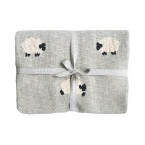 AR Blanket Baa Baa - Grey