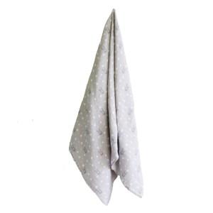 AR Muslin Swaddle - Bunny Star Grey 2