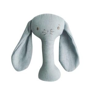 AR Stick Rattle - Bobby Bunny Grey Linen