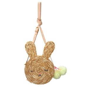 MM Bunny Straw Bag