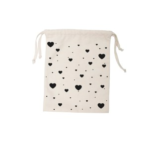 TK Small Cotton Bag - Heart