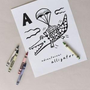 A - Adventurous Alligator