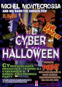 Cyberhalloween-Konzert-Plakat