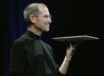Nuevo Apple MacBook Air Steve Jobs