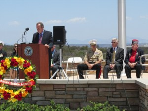 More National Cemeteries to Open Near Veterans, Official Tells Audience at Miramar's Annual Memorial Service