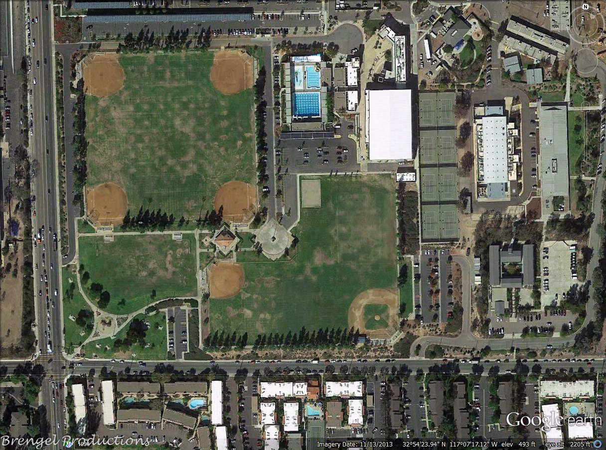 Hourglass Field Community Park  Mira Mesa Recreation Council