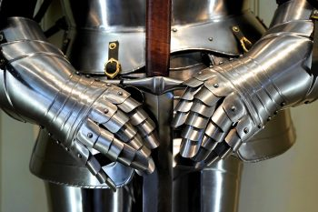 Armor with sword