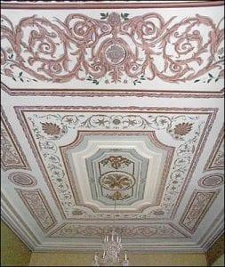 Ballroom ceiling, Government House