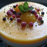 Aprikosentorte mit Vanillequark