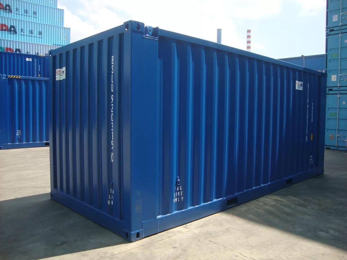 Container Dry 20 pés