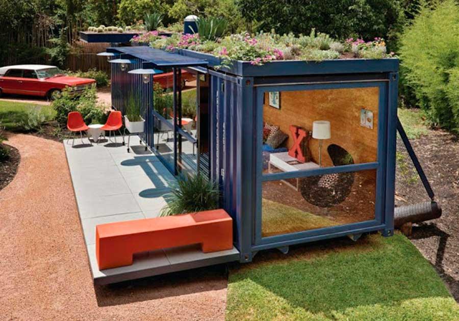 Casa container para alugar
