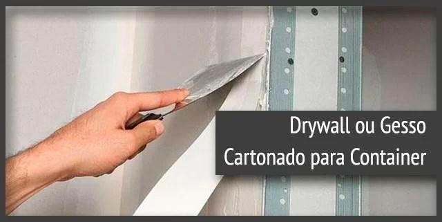 Drywall ou Gesso