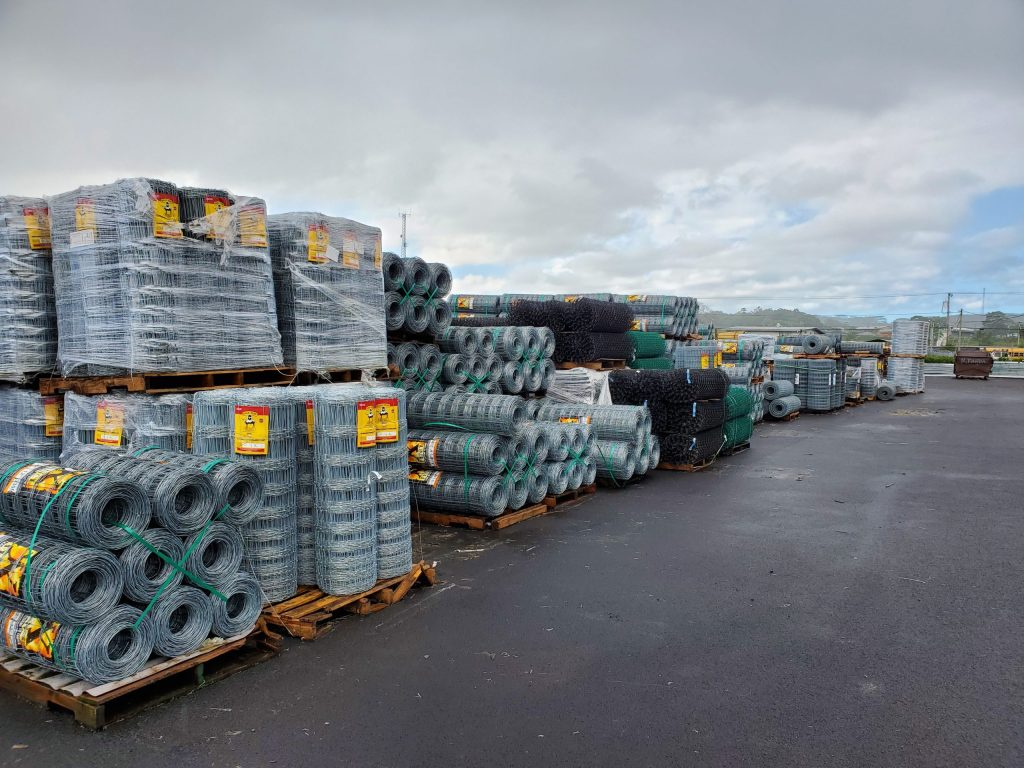 largest Selection of fencing materials in Hilo. X-Fence and Stay Tuff are our two top brands to meet most fencing needs for sale