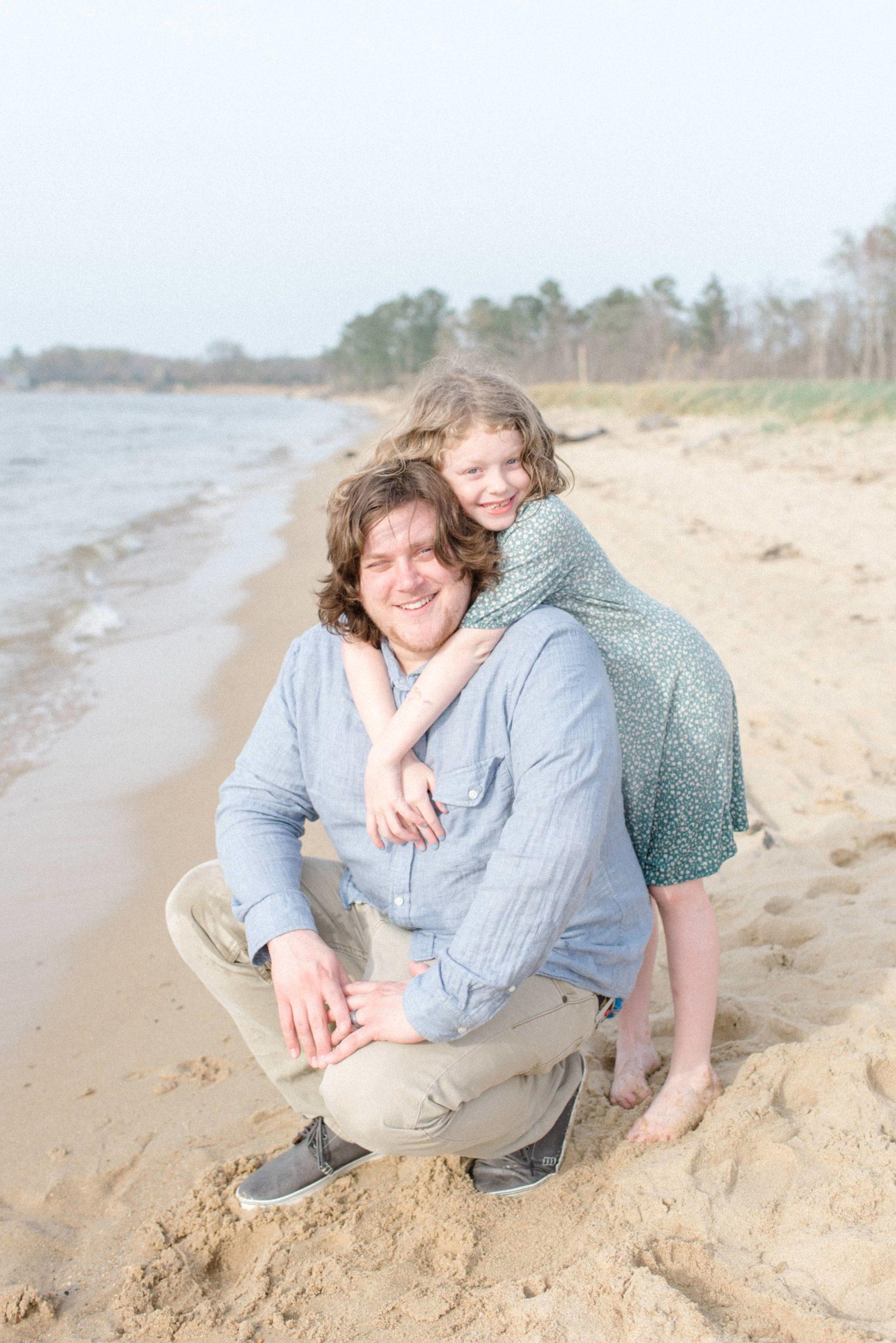 Terrapin Nature Park Maryland Family Photos