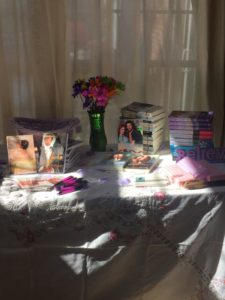I spy...books by Marin McGuinness and Chloe Flowers...