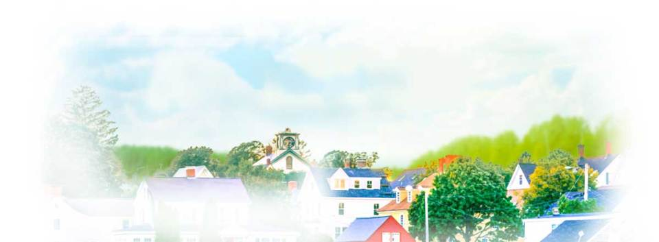 Illustration of the fictional town, Angel Falls. A series of romance novels by Miranda Liasson
