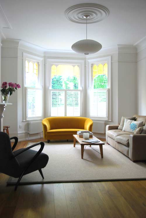How to Furnish a Bay Window | Miranda Schroeder Blog