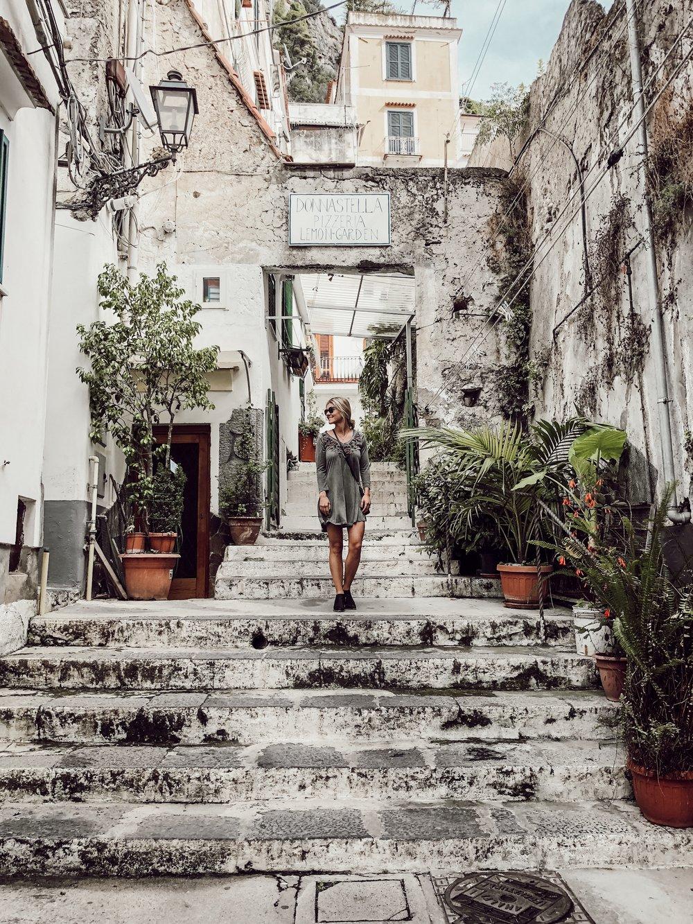 Best Pizza in Amalfi, Italy | Miranda Schroeder Blog