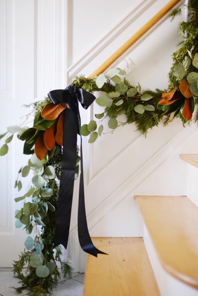 Black & White Christmas Decor | Miranda Schroeder Blog  www.mirandaschroeder.com