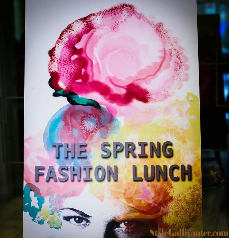 spring fashion lunch 2013