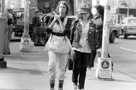 Times Square (1980) directed by Allan Moyle shown: Robin Johnson, Trini Alvarado