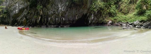 Playa de la Cueva Esmeralda