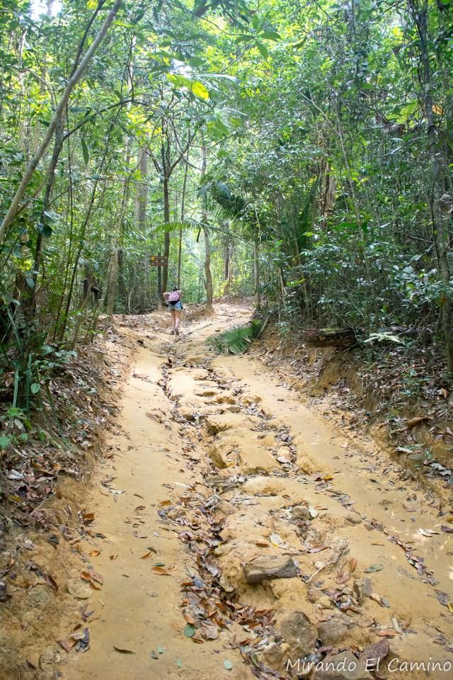 Subida al Parque Khao Ngon Nak