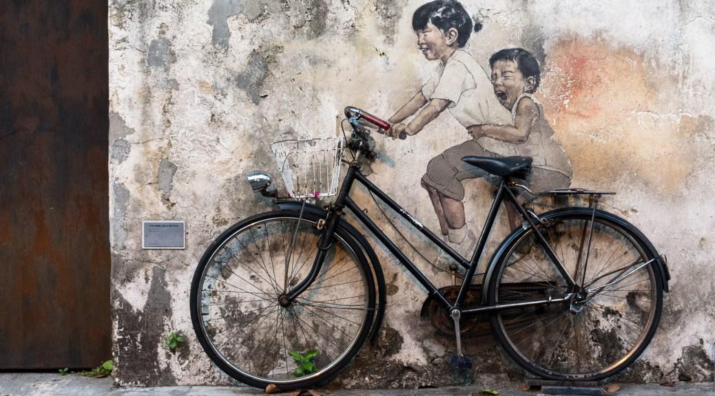 georgetown artstreet bicicleta