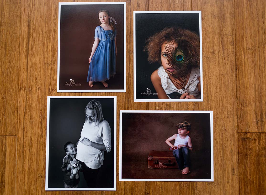 www.miraphotography the sample of prints, shows you the quality and size. and also the type of shoots I do - family, children, documentary, wedding and cake smashes