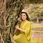 Travelling Dress Project - Photoshoot on a cold December day in London