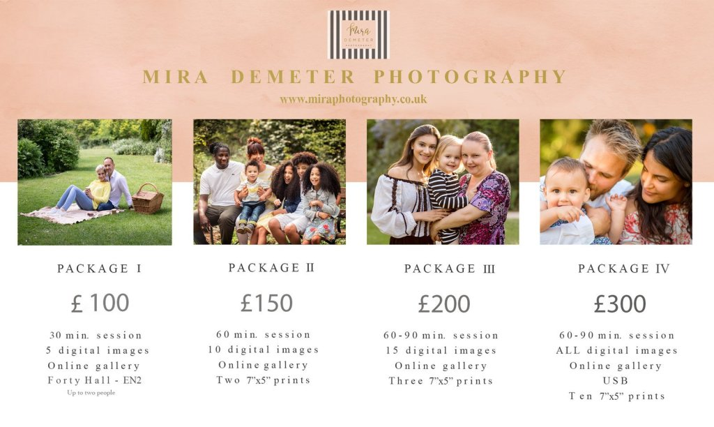 mira demeter photography family outdoor photography enfield london