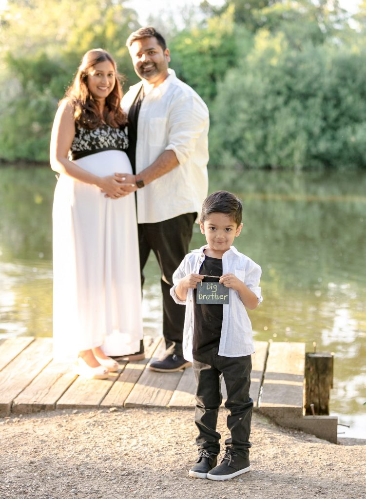 Maternity Photoshoot Outdoors in the Park Enfield London