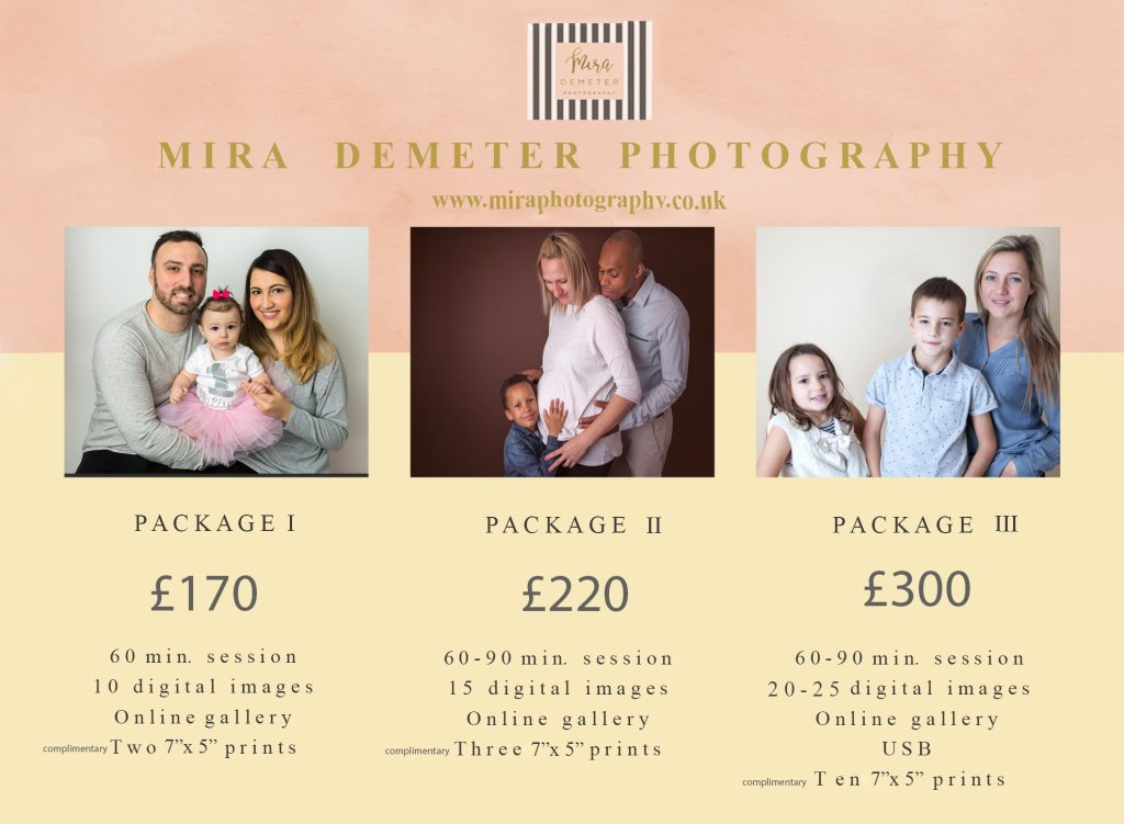 Studio photographer Taking photos of children and families in Enfield, Barnet, Winchmore Hill, Palmers Green and North London or Hertfordshire