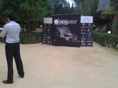la llegada gala Blogosur
