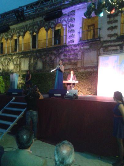 Comienzo de la Gala Blogosur Laura Gallego