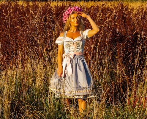 Dirndl Rose Daisy